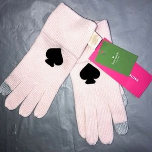 Kate Spade Spade Tech Gloves.Soft pink.NWT!